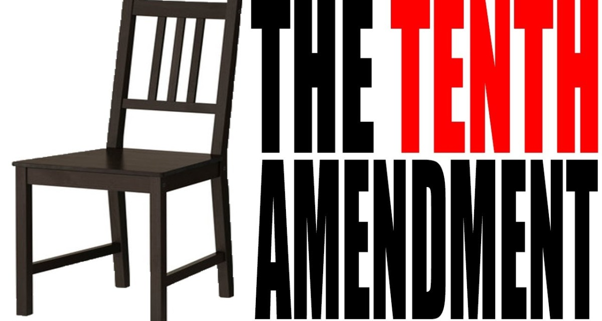 What the 10th Amendment is NOT!